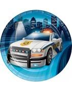 articoli personalizzati per feste polizia , festa a tema polizia